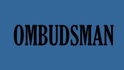 Ombudsman blue box