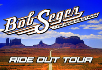 CD Cover of Bob Seger and Silver Bullet Band titled Ride Out