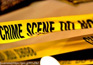 Generic photo of police crime scene tape
