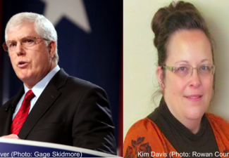 Picture of Mat Staver and Kim Davis