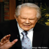 Photo of Evangelist Pat Robertson on his 700 Club show