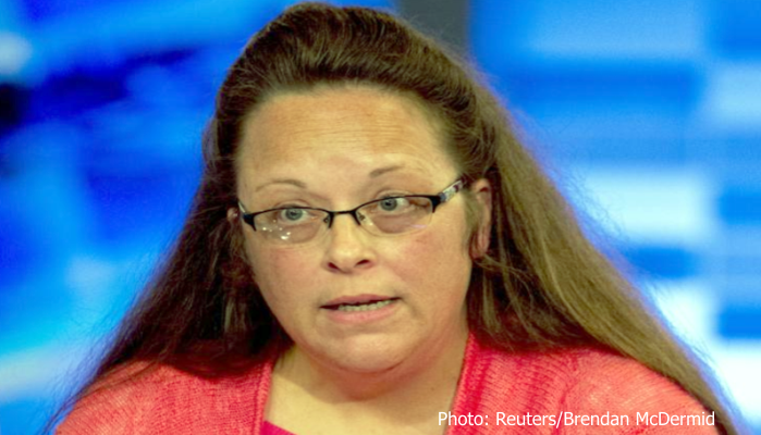 Rowan County Kentucky Clerk Kim Davis by Brendan McDermid of Reuters