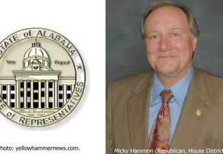 Alabama state Representative Micky Hammon (Republican, House District 4).