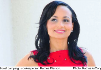 Trump for President campaign national spokesperson Katrina Pierson.