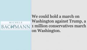 Michelle Bachmann logo