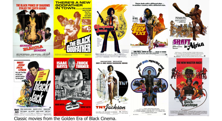 Popular blaxploitation movies