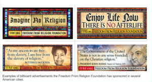 FFRF Atheist Billboard Ads