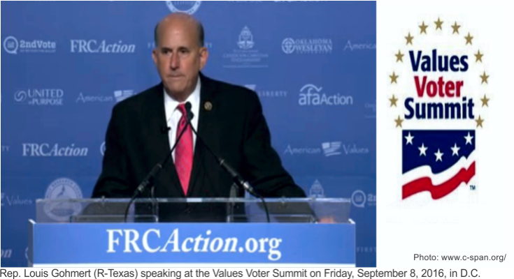 Republican Louis Gohmert