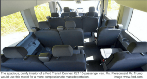 Ford Transit Connect XLT Wagon Interior
