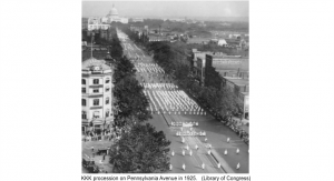 KKK 1925 March Penn Ave Washington DC