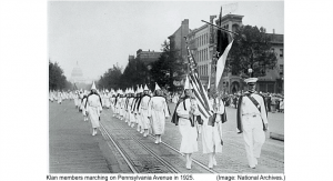Ku Klux Klan Women 1925 March Washington DC