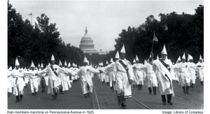 Ku Klux Klan 1925 March Washington DC