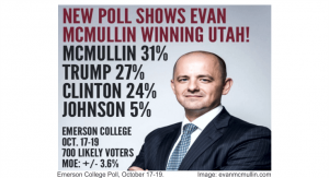 Emerson College Presidential Poll october 2016