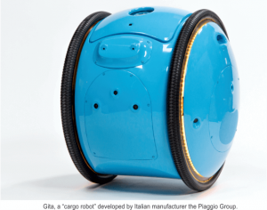 Gita cago robot by Piaggio Group