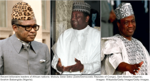 African military dictators Nigeria