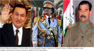 Arab nation dictators