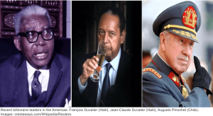 Haiti Chile Dictators