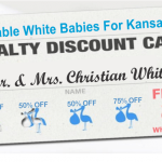 White Babies Registration Card
